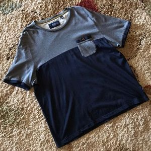Ted Baker London Colorblock Crewneck Tee